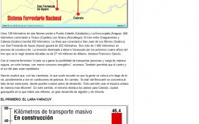 Garces - Metro Caracas Guarenas Guatire listo en 2015